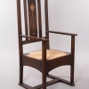 Designed by Harvey Ellis for Gustav Stickley, Arm Chair, c. 1903
