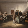 John Trumbull, The Declaration of Independence, July 4, 1776, 1832
