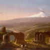 Thomas Cole, Mount Etna from Taormina, 1843