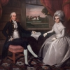 Ralph Earl, Oliver Ellsworth and Abigail Wolcott Ellsworth, 1792