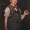 William Merritt Chase, Boy Smoking (The Apprentice), 1875