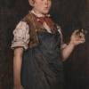 William Merritt Chase, Boy Smoking (The Apprentice), 1875