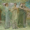 Thomas Dewing, The Days, 1884-86
