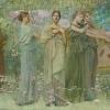 Thomas Dewing, The Days, 1884-86