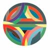 Frank Stella, Sinjerli Variation IV, 1968
