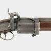 Miller Patent Percussion Ignition Revolving Rifle, c. 1830 (detail)