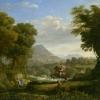Claude Gellée, called Claude Lorraine, Landscape with Saint George and the Dragon, c. 1643