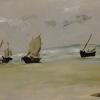 Édouard Manet, The Beach at Berck, 1873