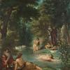 Eugène Delacroix, Bathers, 1854