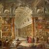 Giovanni Paolo Panini, Interior of a Picture Gallery with the Collection of Cardinal Silvio Valenti Gonzaga, 1749