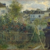 Pierre-Auguste Renoir, Claude Monet Painting in his Garden at Argenteuil, 1873