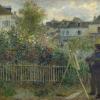 Pierre-Auguste Renoir, Claude Monet Painting in his Garden at Argenteuil, 1873
