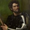 Sebastiano del Piombo, Portrait of a Man in Armor, c. 1512