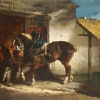 Théodore Géricault, The Village Forge, c. 1822