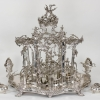 Bernhard Heinrich, Centerpiece with Service Pieces, 1761-63