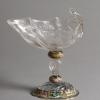 Johann Daniel Mayer, Rock Crystal Goblet, c. 1662-70