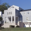 2000, Austin House rear exterior