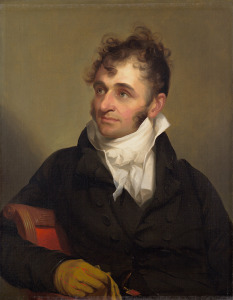 Thomas Sully, Daniel Wadsworth, 1807, Oil on canvas, Gift of William P. Wadsworth, 1976.79. wadsworth atheneum museum of art_history_web