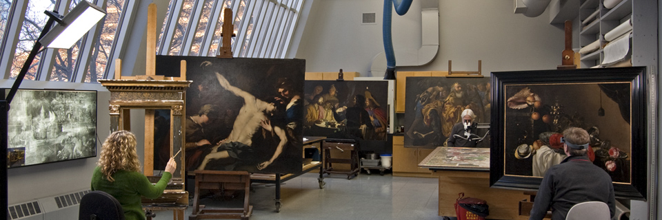 Conservation Department, Wadsworth Atheneum Museum of Art_web header