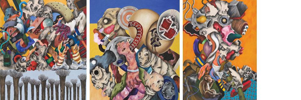 Ahmed Alsoudani / MATRIX 165, Wadsworth Atheneum Museum of Art, Sept 6, 2012 – Jan 6, 2013_composite_web header