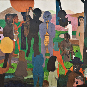 Bob Thompson, Garden of Music, 1960, oil on canvas, The Ella Gallup Sumner and Mary Catlin Sumner Collection Fund, 1987.4