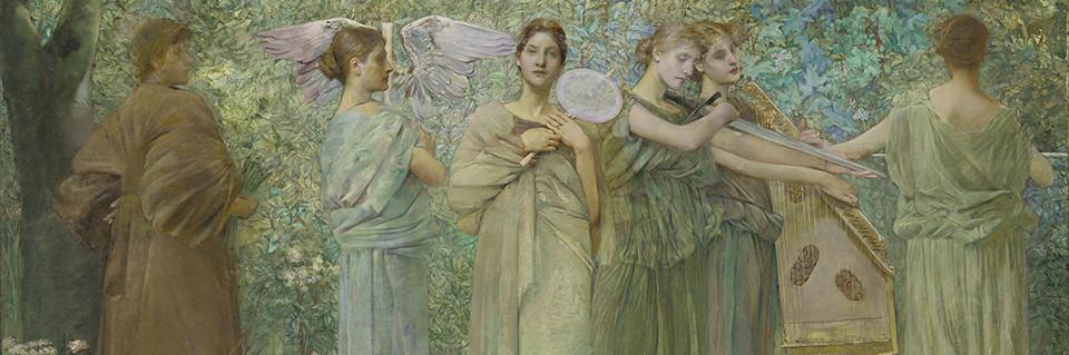 Thomas Dewing, The Days, 1884–86