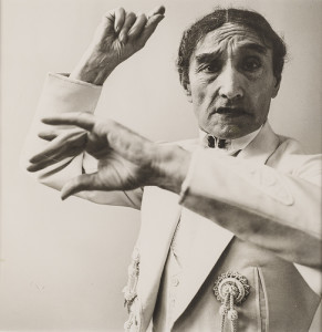 Richard Avedon, Escudero, c. 1950, Black and white photograph, Gift of Janet and Simeon Braguin, 1990.47