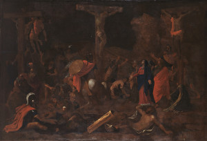 Nicolas Poussin French, 1594–1665 The Crucifixion, 1644–46 Oil on canvas; 58 1/2 x 86 in. Wadsworth Atheneum Museum of Art The Ella Gallup Sumner and Mary Catlin Sumner Collection Fund, 1935.422
