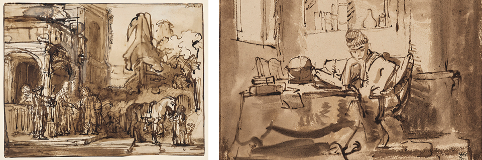 Drawings by Rembrandt and his contemporaries