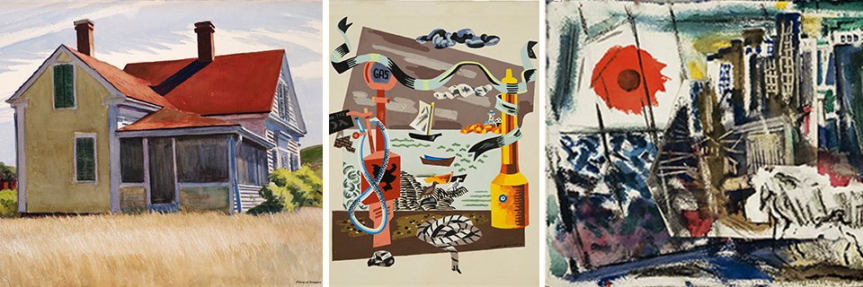artworks in the exhibition American Moderns in Watercolor