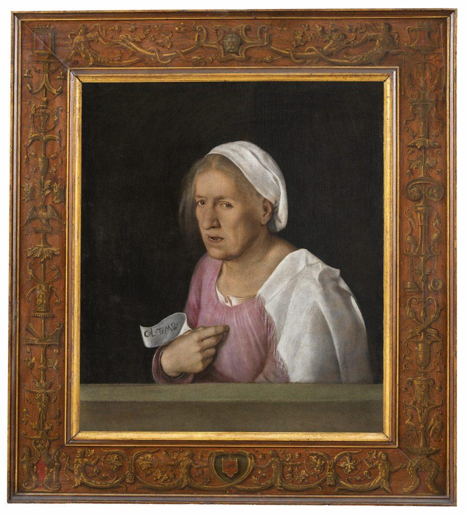 """Giorgione's """"La Vecchia"""""""