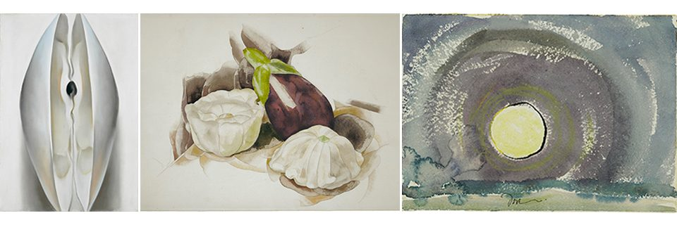 Three works in Nature Through Their Eyes, G