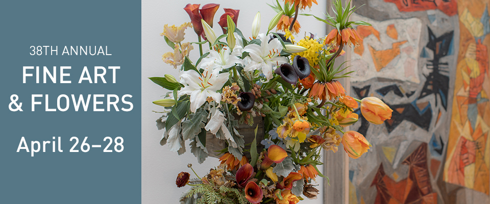 Fine Art & Flowers is April 26-28 at the Wadsworth