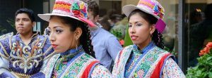 Peruvian Independence day celebration