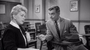 Doris Day and Clark Gable in Teacher's Pet