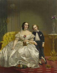 Portrait of Elizabeth Hart Jarvis Colt