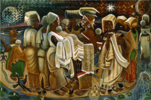 Art in Focus | John Biggers' Band of Angels