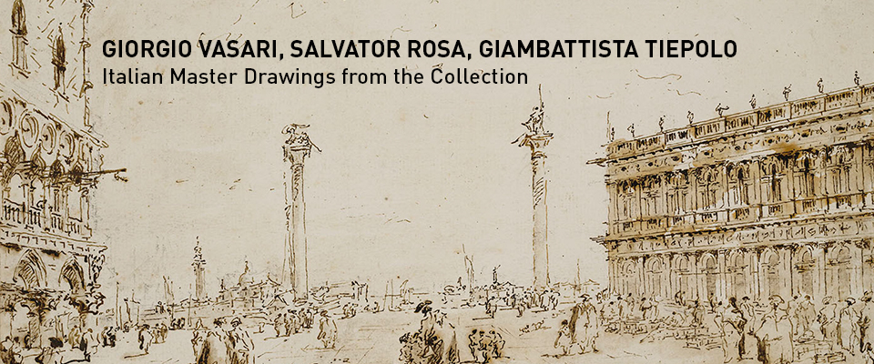 Italian Master drawings from the Collection