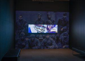 Khalil Joseph BLKNWS installation photo