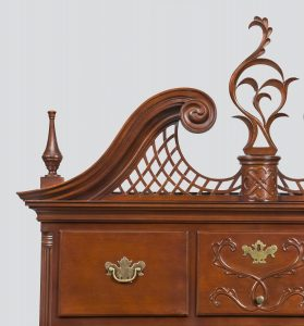 Chapin High Chest detail