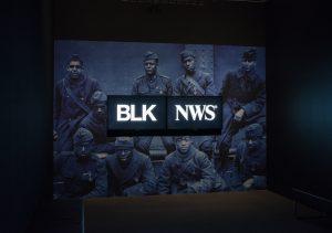 BLKNWS installation photo