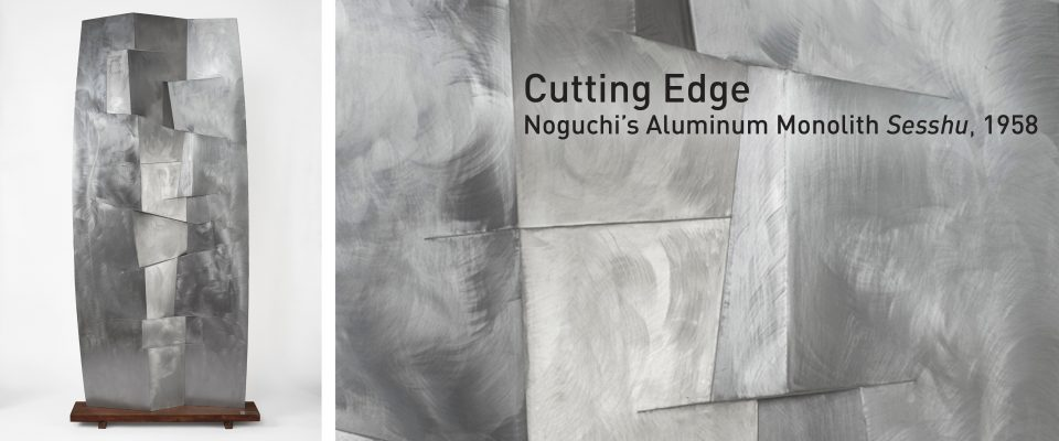 Cutting Edge: Noguchi's Sesshu