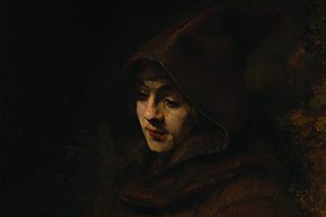 Rembrandt's Titus in a Monk's Habit
