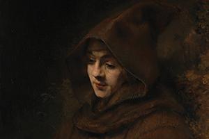 Rembrandt's Titus in a Monk's Habit