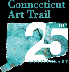 Connecticut Art Trail 25 Anniversary logo