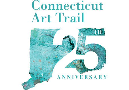 Ct Art Trail 25th anniversary logo