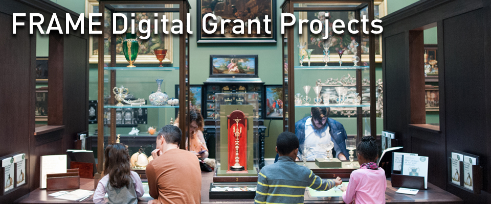Link to FRAME Digital Grant Project webpage