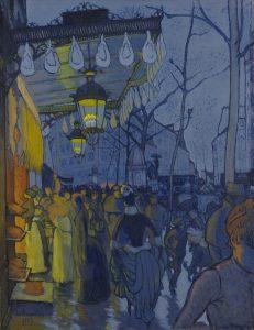 Louis Anquetin, Avenue de Clichy (Street—Five O'clock in the Evening), 1887