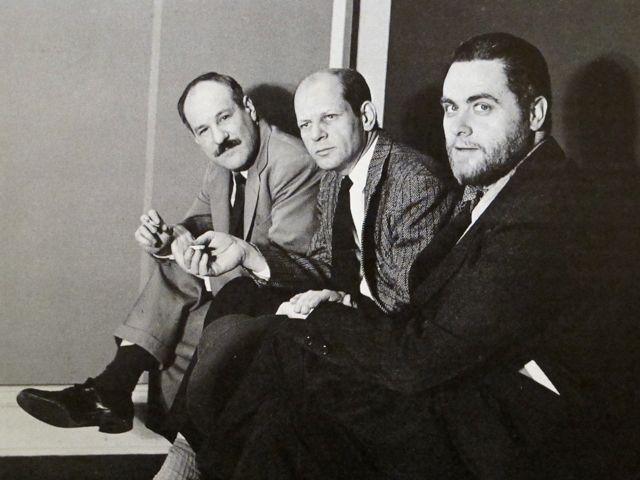 Barnett Newman, Jackson Pollock, and Tony Smith