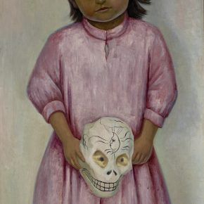 Diego Rivera, Young Girl With a Mask, 1939